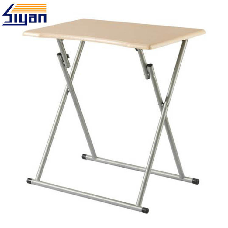 Folding Adjustable Table Top Smooth MDF Table Top Replacement 711*500mm Size