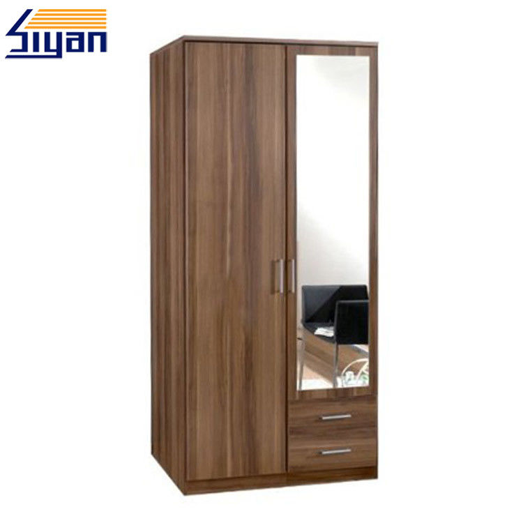 MDF / MFC Bedroom Closet Double Doors Melamine Pressing With 18mm-25mm Thickness